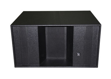 1200W Subwoofer Line Array Sound System For Disco , Horn Loaded 2x18""